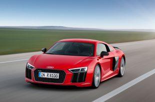 Фото обновленного Audi R8 2015-2016