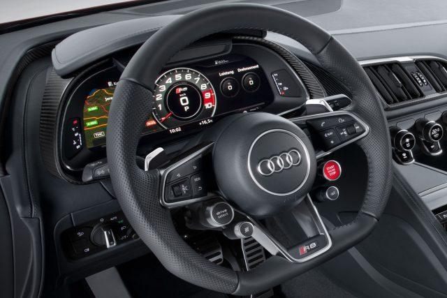 Руль Audi R8 2015-2016 - фото