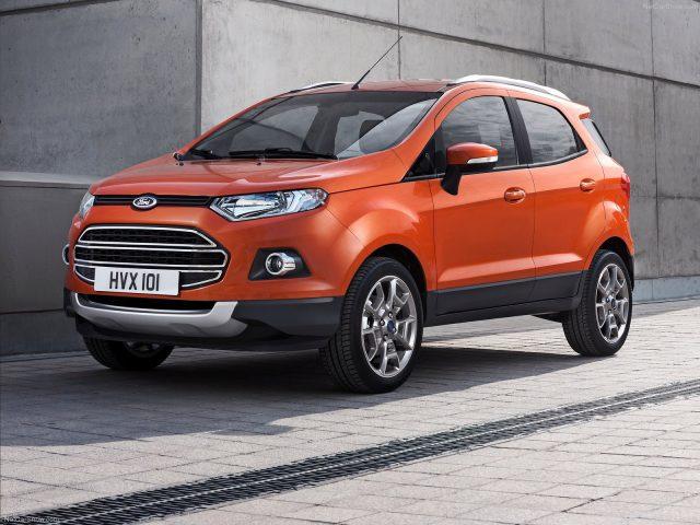 Фото обновленного Ford Ecosport 2015