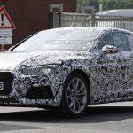 Новая Audi A5 Coupe тестируется на трассе Нюрбуринга