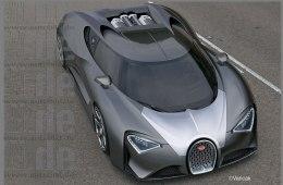 Цена на Bugatti Chirton установлена на уровне 2,5 млн.долларов