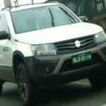 Новую версию Suzuki Grand Vitara заметили шпионы