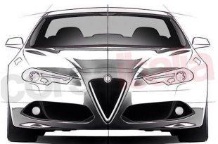 Эскизы нового Alfa Romeo Giulia были выложены в сеть неофициальными источниками