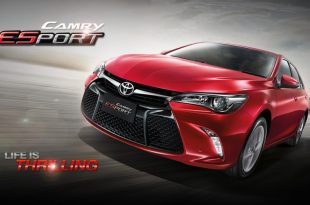 Представлен спортивный седан Camry ESport от Toyota