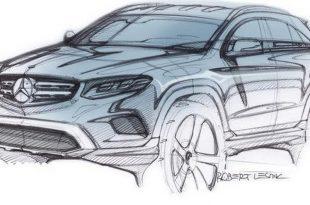 Модель GLC от Mercedes покажут уже 17 июня