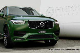 Volvo XC90 получил незначительные внешние изменения от Heico Sportiv