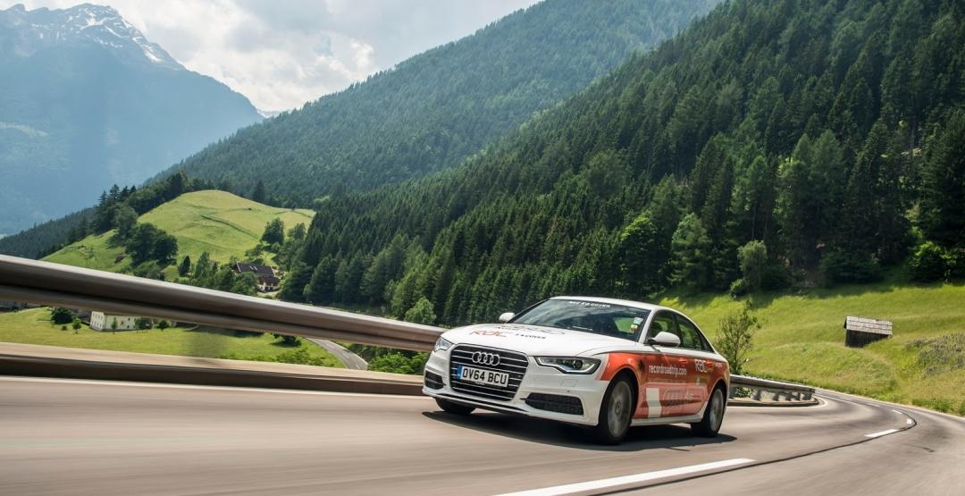 Седан Audi A6 преодолел намеченный путь и попал в Книгу рекордов Гиннеса
