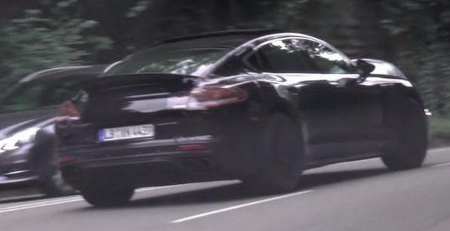 Новое поколение Porsche Panamera испытывается на штутгартских дорогах