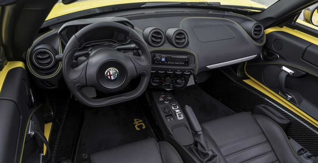 Фото салона Alfa Romeo Spider