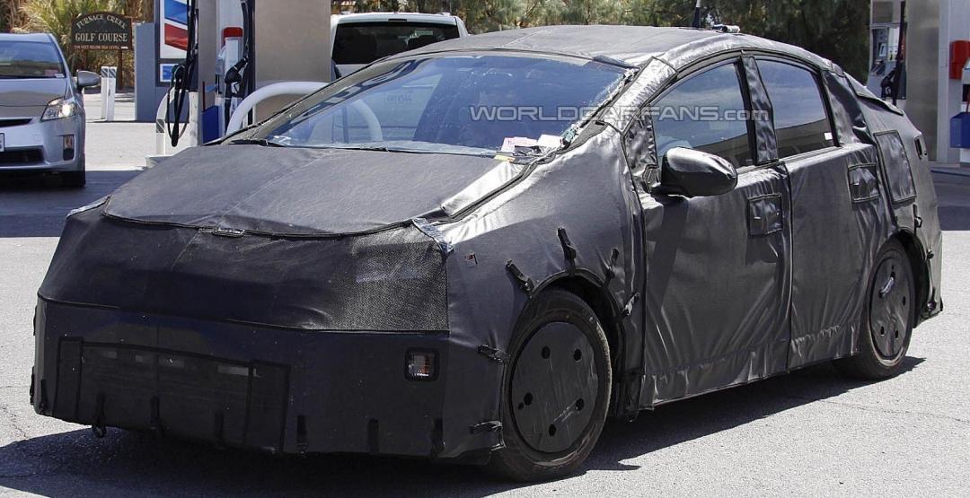 Обновлённый гибрид Toyota Prius появится уже совсем скоро