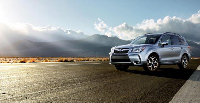 Subaru представила кроссовер Forester после незначительного рестайлинга