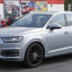 Незамаскированную Audi SQ7 засняли фотошпионы