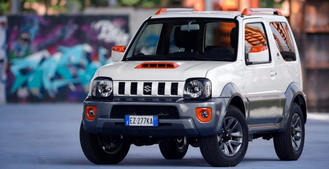 Компания Suzuki представила новую итальянскую версию модели Jimmy