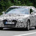 Шпионы сумели запечатлеть задние фонари нового Audi A4 Avant