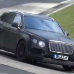 Прообраз модели Bentayga от Bentley испытывается на высокоскоростной трассе Нюрбургринга