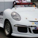 Электрогрузовик от компании Porsche заметили на заездах GP1