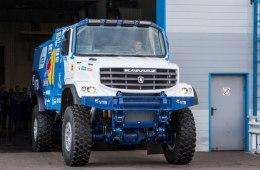 Команда КАМАЗ-Мастер продемонстрировала дебютный грузовик для Дакара в 2016 году