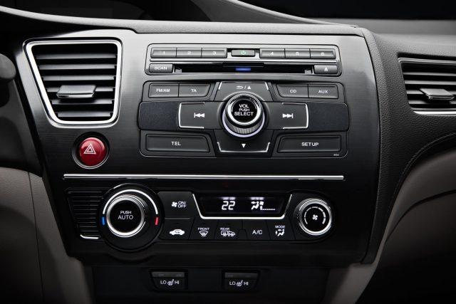 Панель управления автомобиля