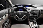 Водительское место в новом Хонда Цивик 4Д 2015