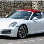 Porsche 911 Targa был замечен без маскировки на тестовых заездах