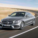 Компания Mercedes-Benz выложила в сеть официальные снимки Coupe C-класса 2016 модельного года