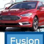 В Интернете выложена предположительная внешность Ford Fusion 2017
