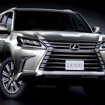 Новая генерация вседорожника Lexus LX 570