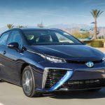 Первые модели Toyota Mirai, работающие на водороде, приехали в Европу