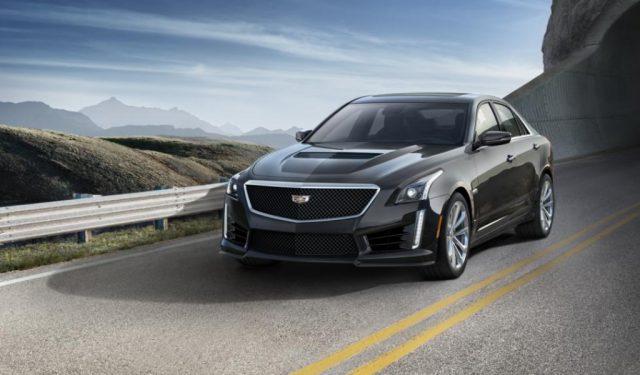Фото Cadillac CTS-V 2016
