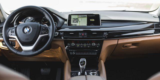 Фото салона BMW X6 2015