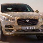 Появились первые фотографии Jaguar F-Pace 2017