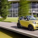 Состоялась официальная презентация кабриолета Smart ForTwo Cabrio