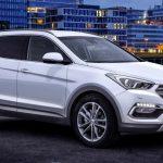 Обновленную версию кроссовера Hyundai Santa Fe покажут во Франкфурте