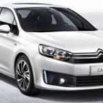 В Китае презентован новый седан Citroen C4