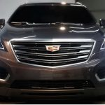 Представители компании Cadillac показали фотоснимки кроссовера XT5