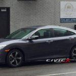 Новое поколение Honda Civic замечен без защиты