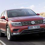 Появились официальные скетчи новой версии модели Volkswagen Tiguan