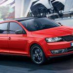 На автовыставке во Франкфурте будет показан лифтбек Skoda Rapid Monte Carlo