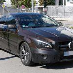 Обновленную модель CLA от бренда Mercedes-Benz заметили на немецких дорогах