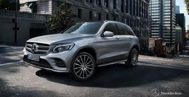 В РФ запустили продажи нового кроссовера GLC от бренда Mercedes-Benz
