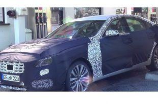 Шпионское фото Hyundai Genesis