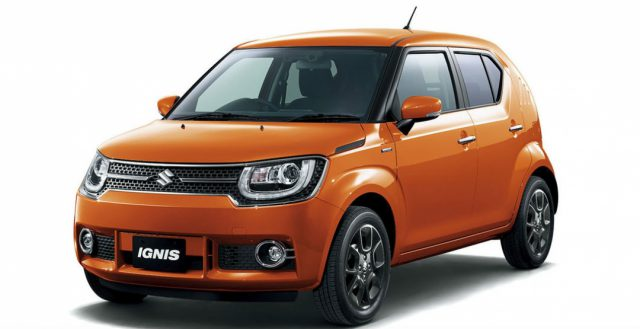 Кроссовер Ignis от компании Suzuki представили официально