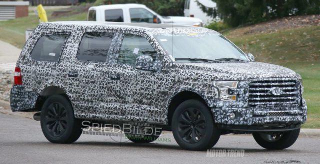 Огромный и новый Ford Expedition уже тестируется