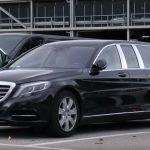Шпионы сфотографировали новый Mercedes-Maybach S600 Pullman в Германии