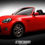 Компьютерное изображение спортивной модели S-FR от Toyota выложено в Интернет