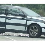 Обновленный Peugeot 408 модели уже тестируется в Малайзии