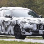 Прообраз модели SUV Maserati Levante тестируется в Нюрбургринге