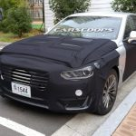 Салон корейской новинки Hyundai Equus был рассекречен папарацци