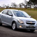 Уже в текущем году произойдет рестайлинг модели Cobalt от Chevrolet