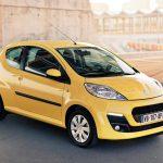 Россию покинула модель 107 от французского бренда Peugeot
